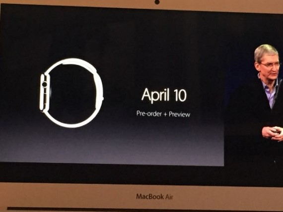 Apple Watch reveal by Tim Cook