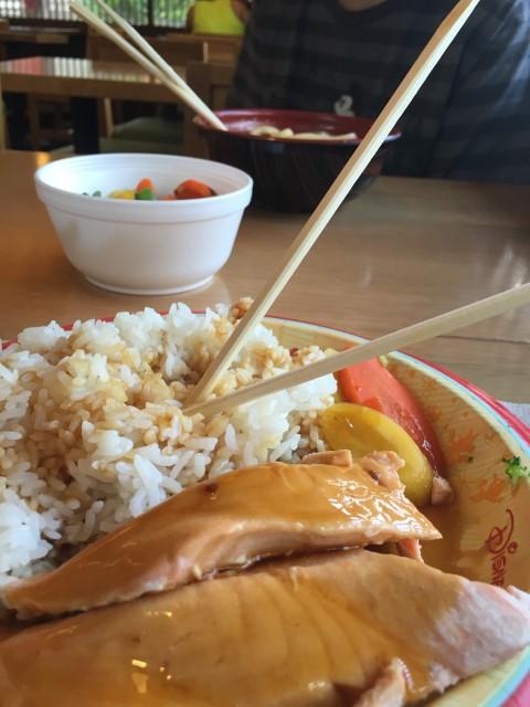 Katsura Cafe meal at Epcot