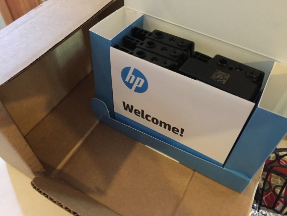 HP Instant Ink package