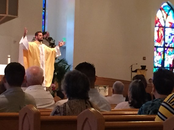 New Priest at Holy Family Orlando