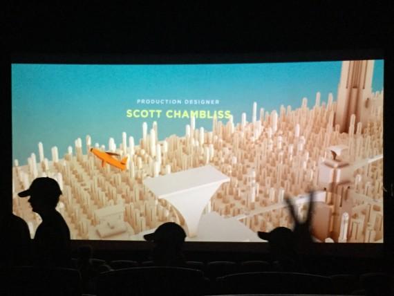 Tomorrowland Movie credits