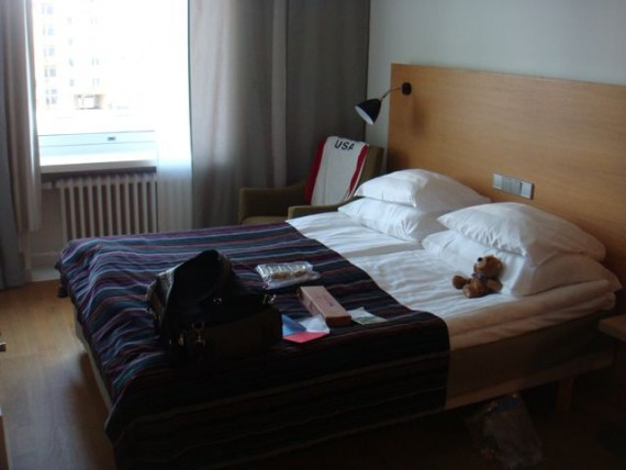 Finland hotel room