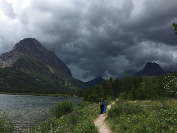 Glacier National Park Thunderstorm