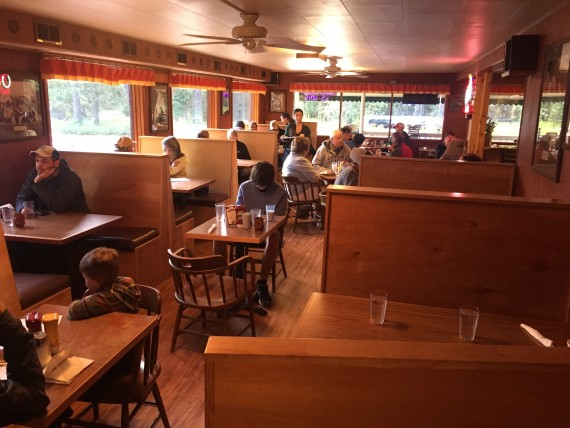 Eddie's restaurant at Apgar