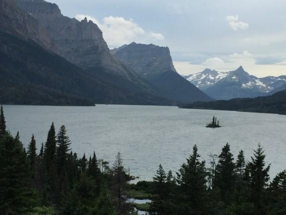 St Mary Lake at Glacier Park