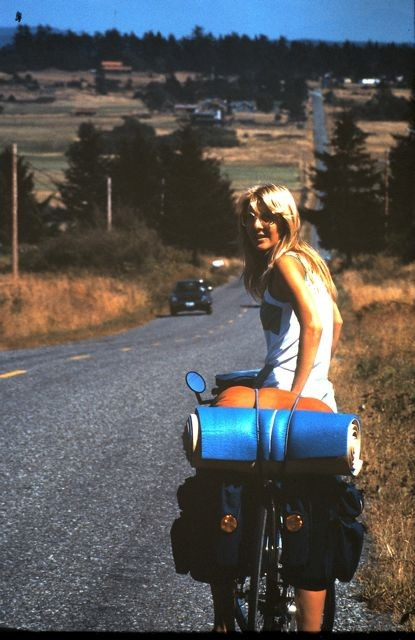 Honeymoon bicycle trip on the San Juan Islands