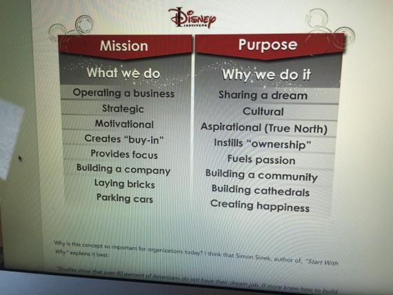 Disney business wisdom