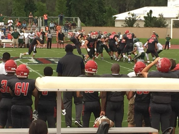 Windermere Prep 2015 first home football game