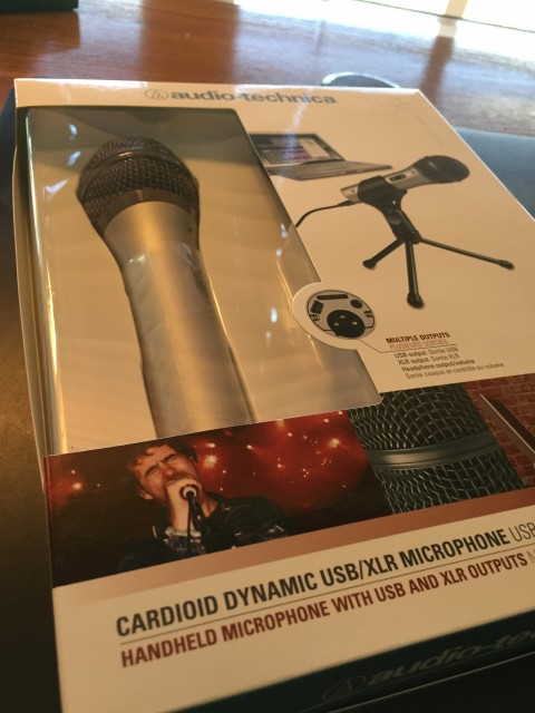 Good Podcasting microphone