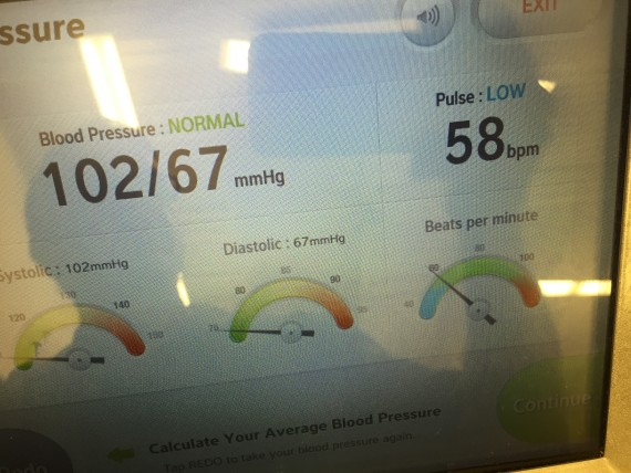 free Blood pressure test at Publix