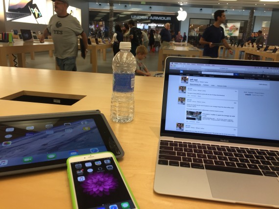 Apple Store One-to-One session