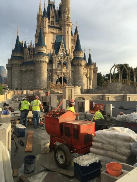 Magic Kingdom Castle improvements