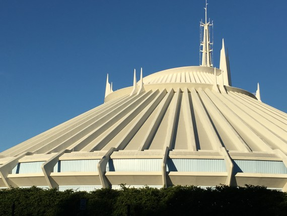 Disney World's Space Mountain