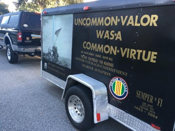 United States Marines trailer