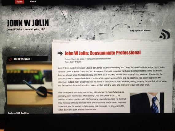 John W Jolin