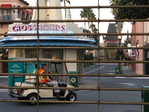 Disney's Hollywood Studios at dawn