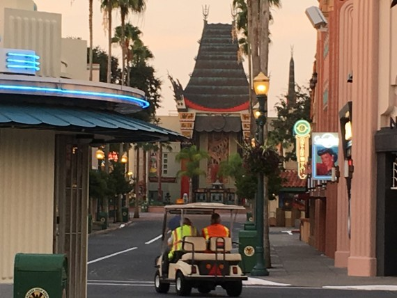 Disney's Hollywood Studios at dawn