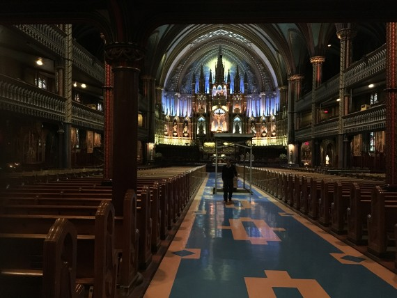 Montreal Cathedral of Notre Dame