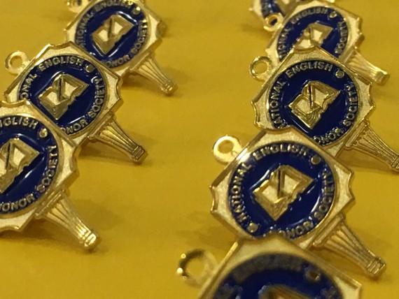 National English Honor Society pins