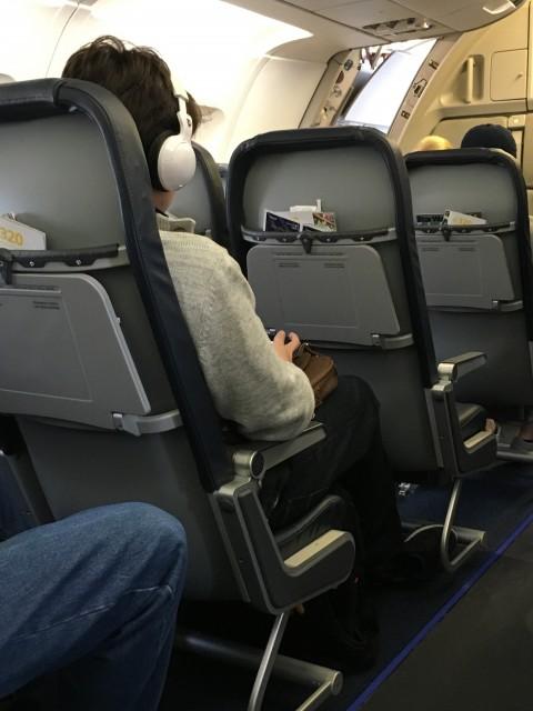 Allegiant Air cabin