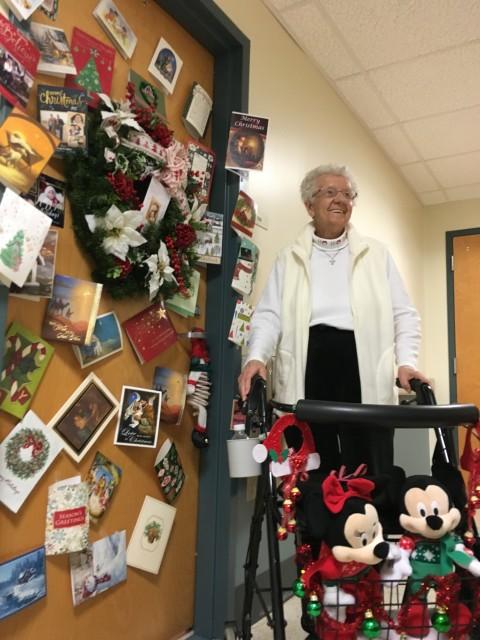 Christmas in Senior Living facility