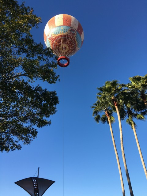 Disney Springs Balloon ride