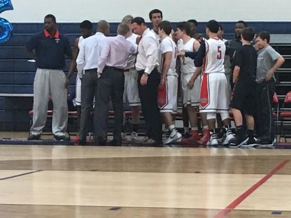 WPS boys basketball team
