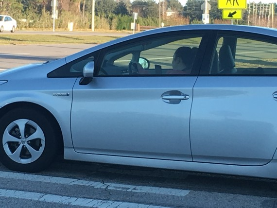 Unplanned photo yesterday, while waiting at busy intersection.