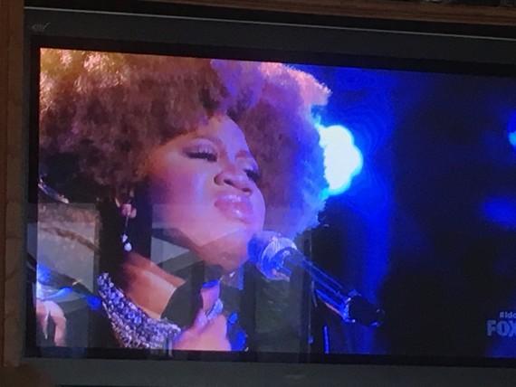 La'Porsha singing Diamonds