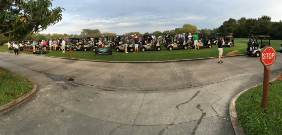Golf tournament line up
