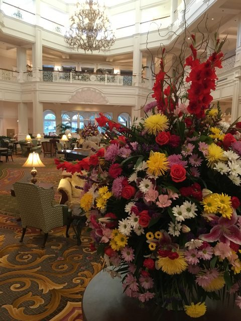 Disney's Grand Floridian Resort Lobby