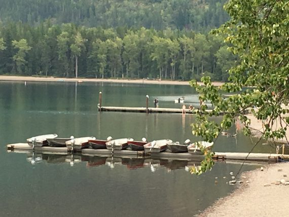 Lake McDonald marina