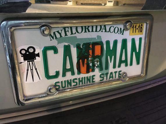Florida vanity license plate
