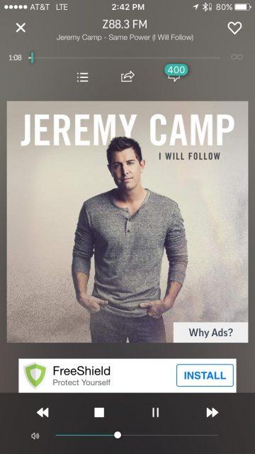 Jeremy Camp CD