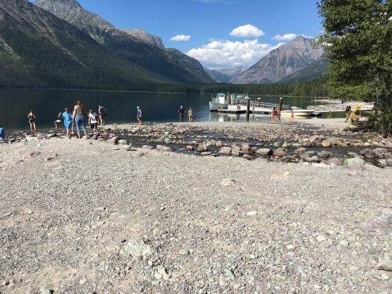 Lake McDonald Lodge creek