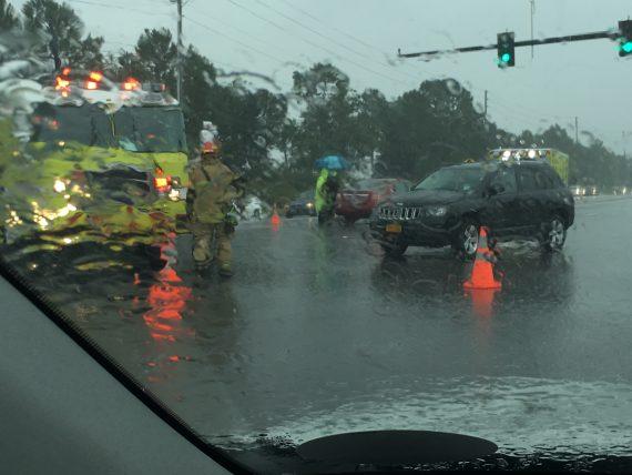 Car accident near Disney