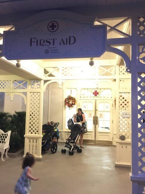 Magic Kingdom First Aid