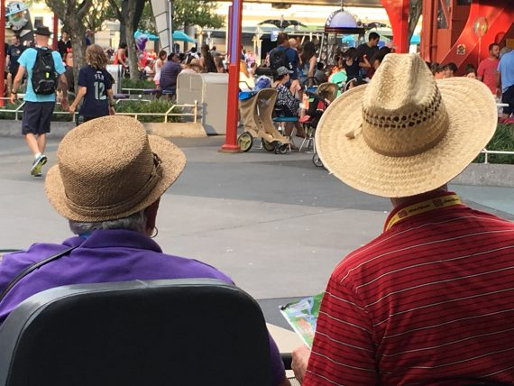 Guests at Disney