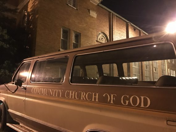 Church of God van