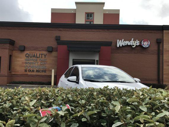 Wendy's service motto
