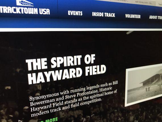 Hayward Field website