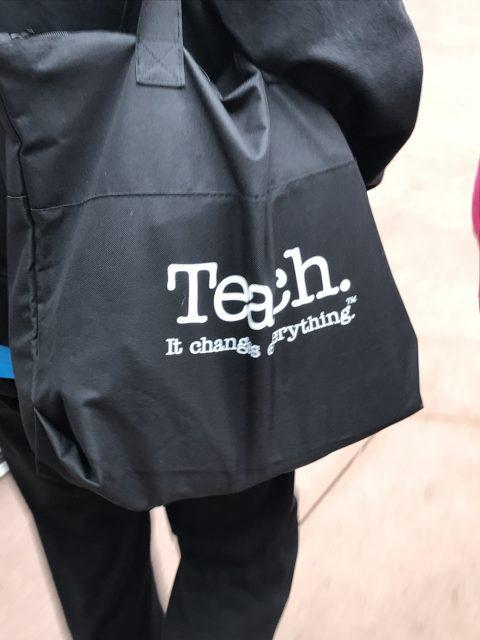 Teaching slogan