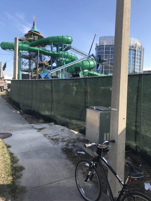 Universal Studios construction