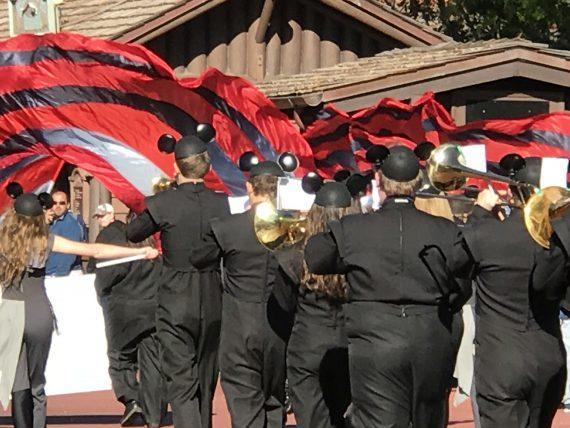 High School Marching band at Walt Disney World