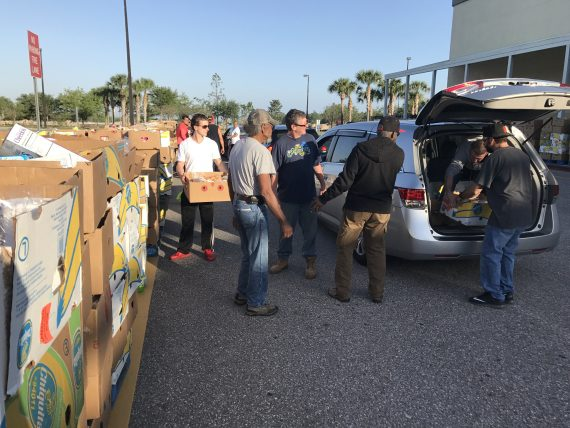 2017 Food For Families Orlando deliveries