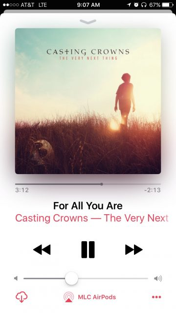 Casting Crowns song