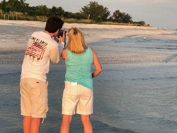 Florida beach business trip