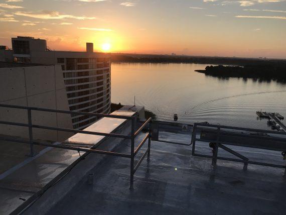 Disney's Bay Lake at Sunrise