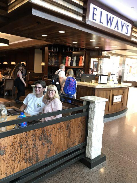 Elways Denver airport restaurant