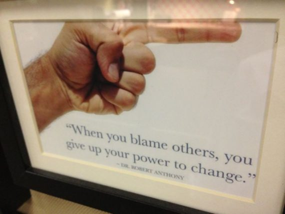 quote about blame